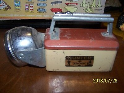 * Vintage Hunter Ray O Vac Made In U.s.a. Flash Light, Rustic....