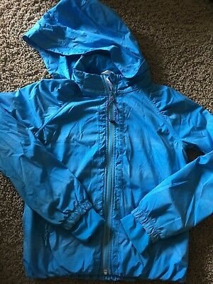 ivivva girls blue jacket size 10