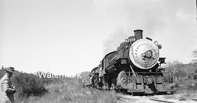 1948 SP 2915 Olympia California R&LHS Excursion Southern Pacific NEGATIVE