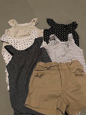 Mixed Lot Of Baby Girls Clothes Shorts And Bodysuits Size 24 Months