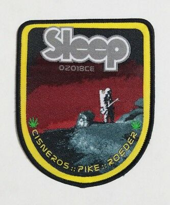 Sleep Band Tour Patch 2018 Limited Edition Merch