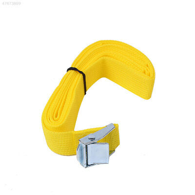 FD49 2.5M Buckle Tie Down Luggage Straps Lash Belt Nylon Outdoor Camping Tool
