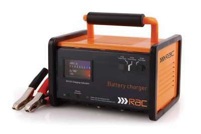 Heavy Duty Rac 12A 12V 6V Smart Battery Charger Booster Car Vehicle Van New