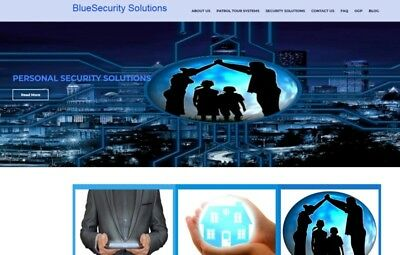 Website for Security Business