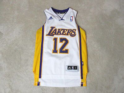 f1366d545 Adidas Dwight Howard Los Angeles Lakers Basketball Jersey Youth Small SEWN  Kids
