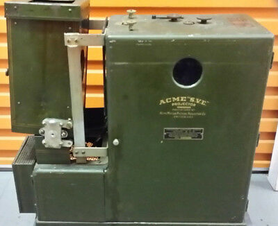 ACME 35mm silent portable movie projector from the USA.