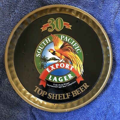 South Pacific Lager Beer Tray