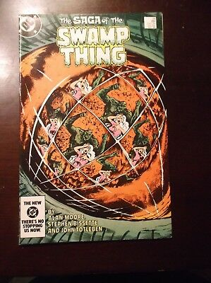 The Saga Of The Swamp Thing # 29 October 1984 Nm- Near Mint- 9.2