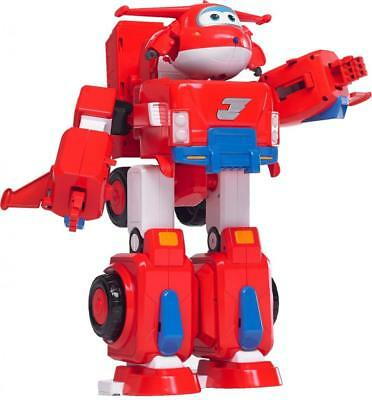 Super Wings - Jett's Robot Suit Large Transforming Toy Vehicle | Includes,...