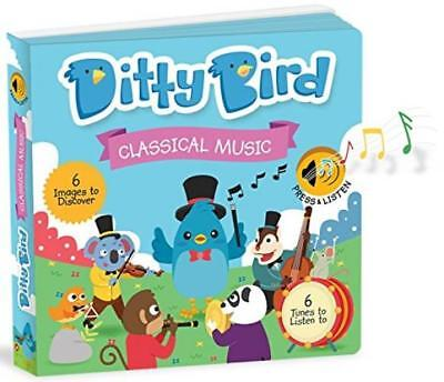 Ditty Bird Our Best Interactive Classical Music Book Babies Melodies Mozart...