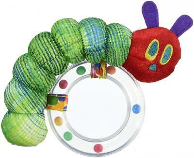 """The World of Eric Carle, Very Hungry Caterpillar Ring Rattle, 6"""""""
