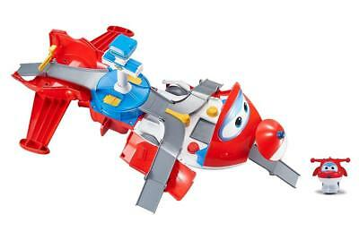 Super Wings - Jett's Takeoff Tower 2-in-1 Toy Playset | Includes Figure |...