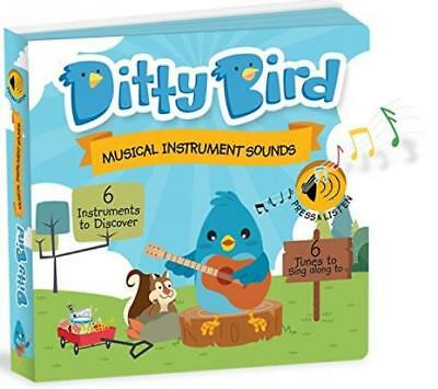 Ditty Bird Our Best Interactive Instrumental Music Book Babies. Educational...