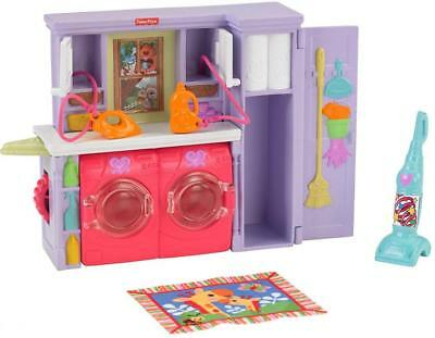 Fisher-Price Loving Family Laundry Room Playset