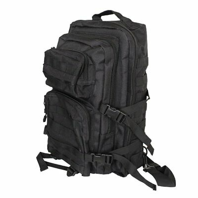 Tactical One Strap Assault Sling Pack Large MOLLE Padded Backpack Hiking Black