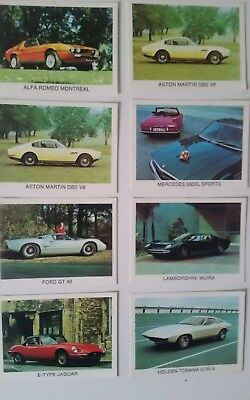 Sanitarium Weet-bix Cards - The Super Cars