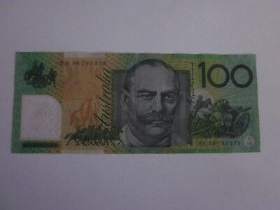 1996 $100 Test Note. BS 96 793358  R616T, Fraser/Evans