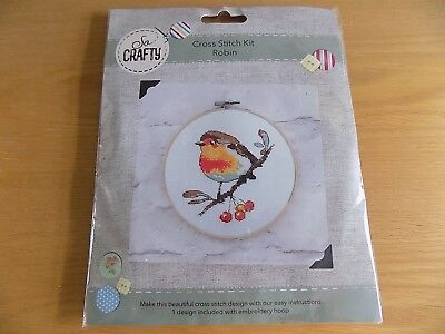 2002 \ 70.362 Vervaco-counted cross stitch kit-robins treasure