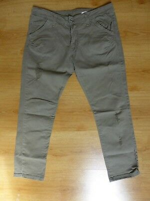 Please Khaki Green Jeans Trousers Size S