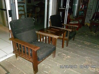 Antique/Vintage Silky Oak Verandah Chairs -  they need a revamp!