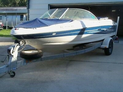 2004 Sea Ray Sport 180 With Factory Trailer - Garage Stored Since New