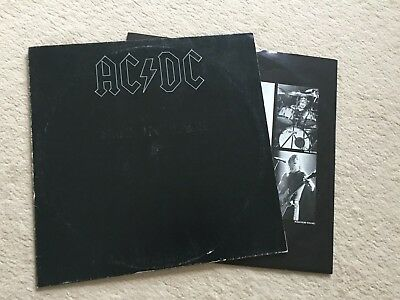 "12"" LP - AC/DC - Back In Black - Atlantic ATL 50735"