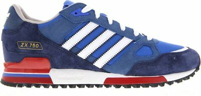 premium selection acaf8 1c4f2 ADIDAS ORIGINALS ZX 750 Mens Trainers Bluebird / White / Red Uk Sizes 7 To  12