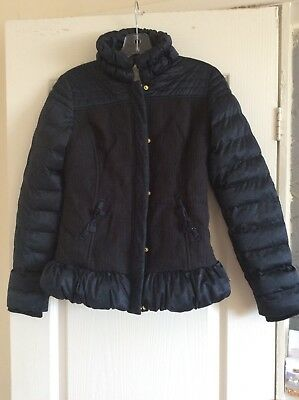 girls navy supertrash jacket (age 14 years)