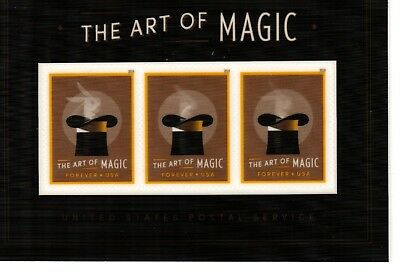 2018 Scott 5306a The Art of Magic Souvenir Sheet Free shipping in USA!!