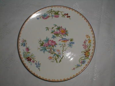 Wedgwood Cuckoo X7655 Antique Dessert Cake Cookie Plate Finest Bone China Unused