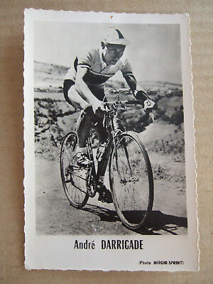 Photo Miroir Sprint : Andre Darrigade Cycliste Tour De France Annees 50 60