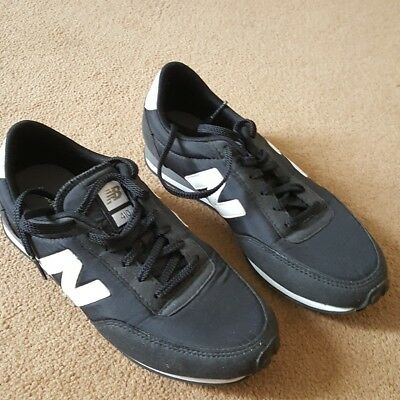 New Balance 410 black trainers size 5
