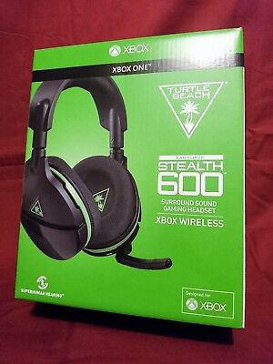 Xbox One Turtle Beach Stealth 600 Ear Force Wireless Headset - Like New