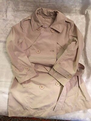 Trench Bambina Tg 6 Anni Marca Add