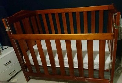Baby Cot And Two Mattresses