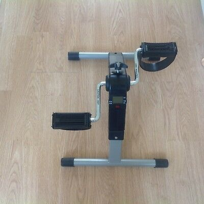 Folding Pedal Exerciser with Digital screen and adjustable resistance