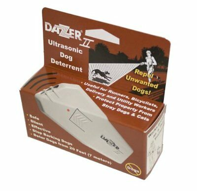 Ultrasonic Dazer Ii Aggressive Dog Deterrent Repeller Dazzer