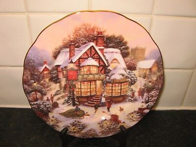 Royal Doulton Christmas  2004    Plate -   The Bakery  -   Bradford Exchange
