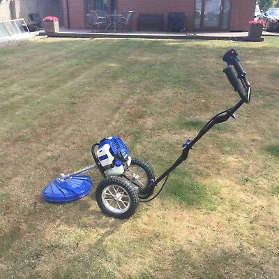 Hyundai wheeled trimmer. modle HYWt5080  condition excellent used only a few tii