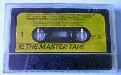 THE MASTER TAPE Compilation MC, Grace Jones, Spandau Ballet, Fun Boy Three, 1983