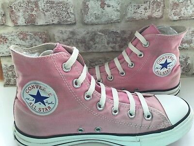 Womens Converse Size 6 Hi Tops Canvas Trainers Used Condition