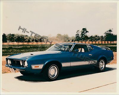 1973 Mustang ORIGINAL Factory Photos from Ford