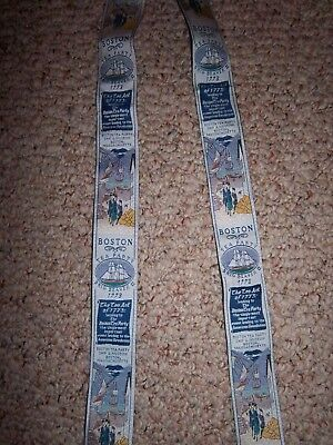 Men's Suspenders Braces Made in England Boston Tea Party