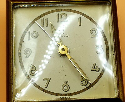 Antique Inghans German Clock movement and face