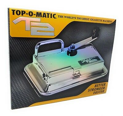 TOP-O-Matic T2 Cigarette Making Rolling Machine for  King  &100 Size