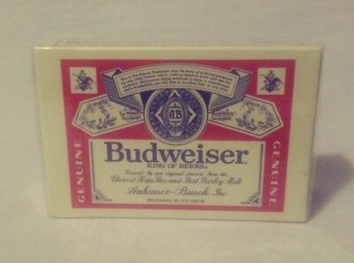 Budweiser King Of Beer New Sealed Playing Cards Plastic Coated