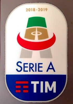 2018-19 Serie A TIM Lega Calcio OFFICIAL STILSCREEN Football Toppa Badge Patch