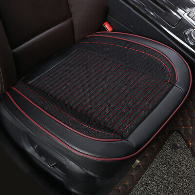 Protector Car Seat Cover Cushion Black PU Leather Front Cover Universal Soft