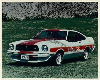 Lot of 3 1978 Mustang ORIGINAL Factory Photos from Ford