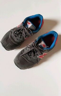 ladies new balance gray trainers size 4